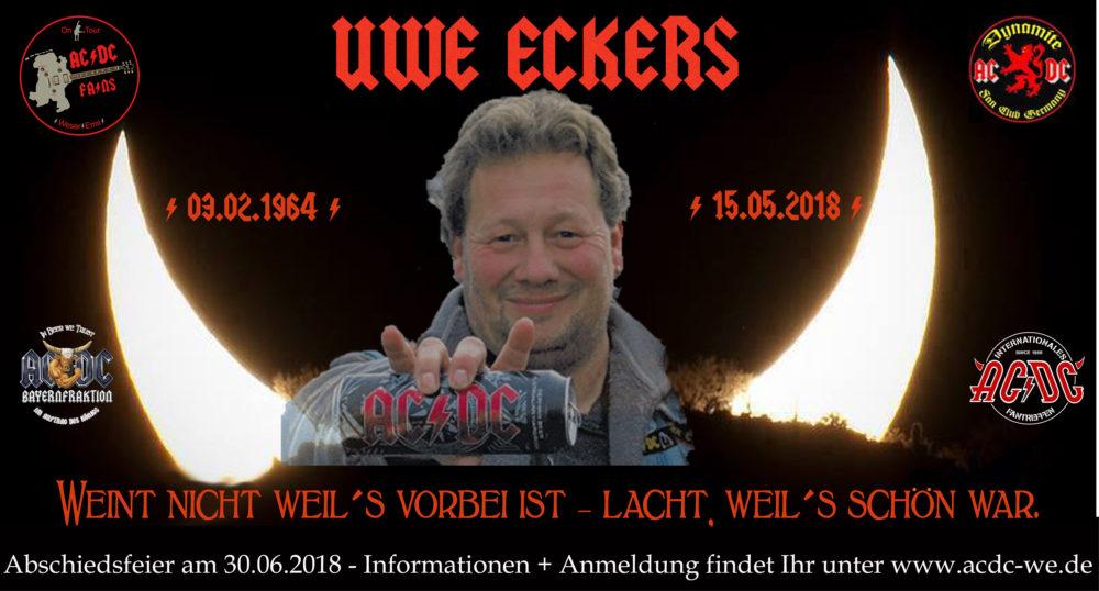Abschiedsfeier Uwe Eckers